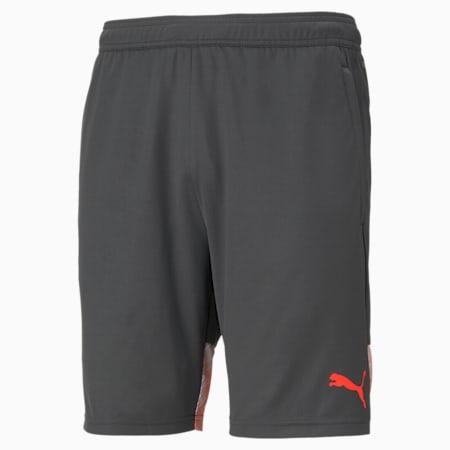 individualCUP Men's Shorts, Asphalt-Red Blast, small