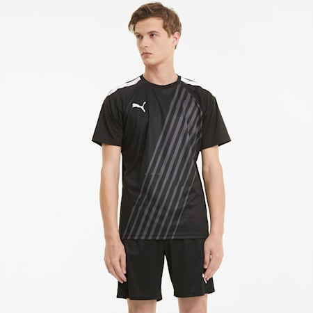 Maillot de football teamLIGA Graphic homme, Puma Black-Puma White, small