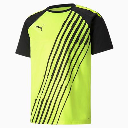teamLIGA Graphic Men's Football Jersey, Yellow Alert-Puma Black, small-SEA