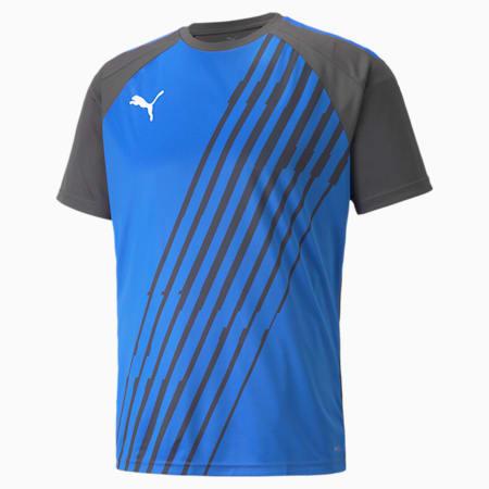 teamLIGA Graphic Men's Football Jersey, Bluemazing-Asphalt, small