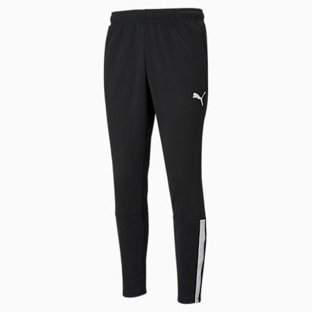 teamLIGA Training Men's Football Pants, Puma Black-Puma White, small