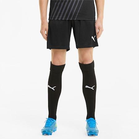 teamLIGA Training Men's Football Shorts, Puma Black-Puma White, small-GBR