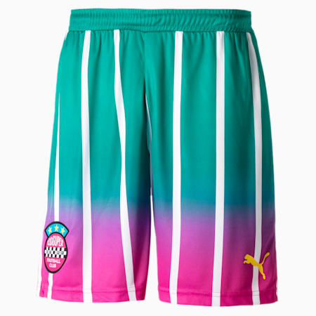 PUMA x KIDSUPER Men's Shorts, Spectra Green, small