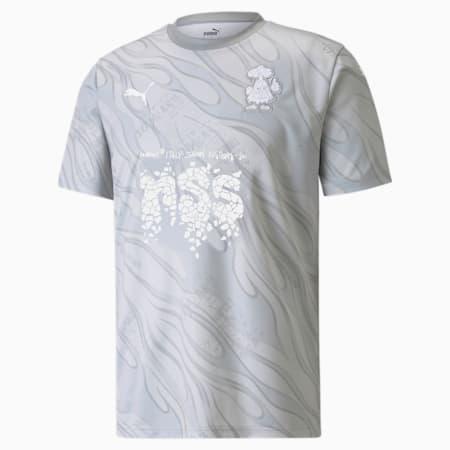 PUMA x NSS Football Jersey, Gray Violet-Puma White, small