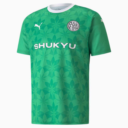 Koszulka piłka nożna PUMA x SHUKYA, Jelly Bean-Kelly Green, small