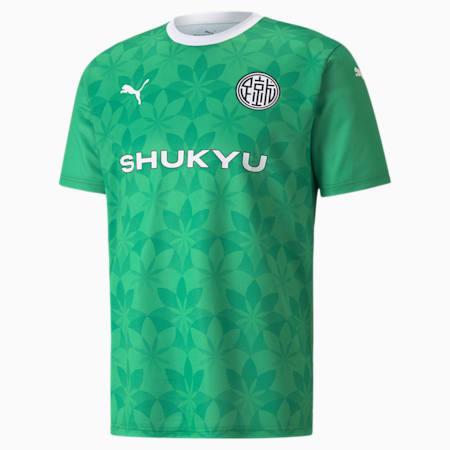 PUMA x SHUKYA Football Jersey, Jelly Bean-Kelly Green, small-GBR