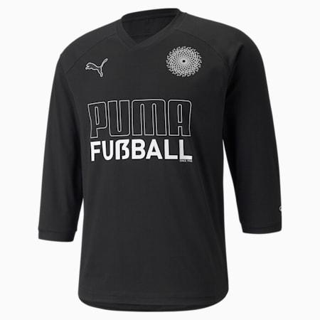 FUßBALL King Men's Football Tee, Puma Black, small-SEA