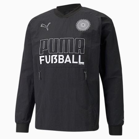 FUßBALL King Men's Football Drill Top, Puma Black, small-GBR