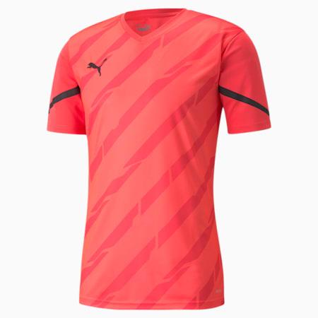 individualCUP Men's Football Jersey, Sunblaze-Puma Black, small
