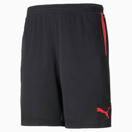 individualCUP 축구 숏 팬츠/individualCUP Shorts, Puma Black-Sunblaze, small-KOR