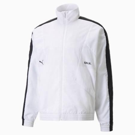 PUMA x BALR. Men's Track Jacket, Puma White, small