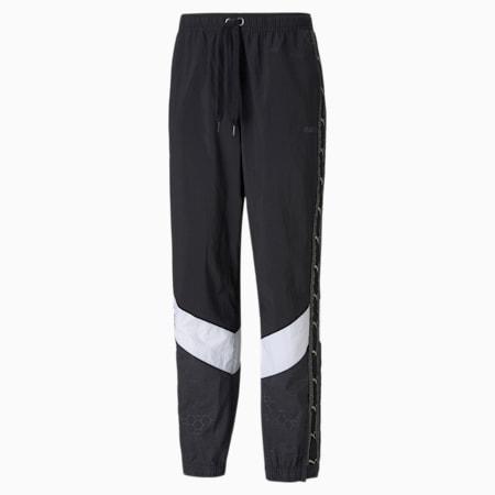 PUMA x BALR. Men's Football Track Pants, Puma Black, small-GBR