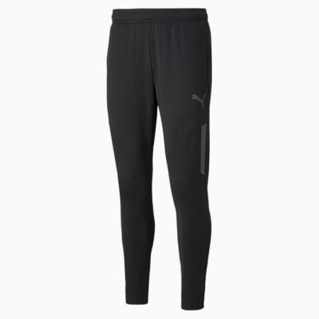 individualLIGA Warm Men's Football Pants, Puma Black, small-GBR
