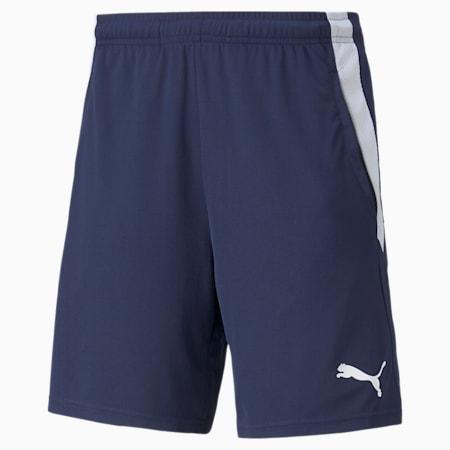 teamLIGA Training Men's Football Shorts 2, Peacoat-Puma White, small-SEA