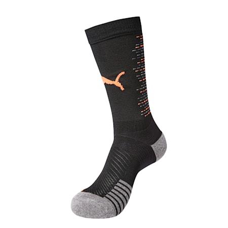 축구 양말/Football Sock, Puma Black-Hot Coral, small-KOR