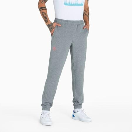 PUMA x 1DER Men's Pants, Medium Gray Heather, small-IND
