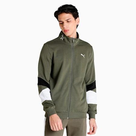 PUMA x 1DER Full-Zip Men's Jacket, Grape Leaf, small-IND