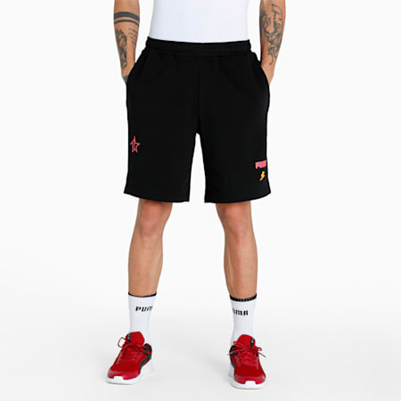 PUMA x 1DER Men's Shorts, Puma Black, small-IND