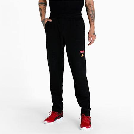 PUMA x 1DER Men's Pants, Puma Black, small-IND