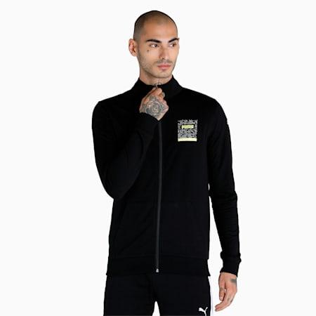 PUMA x 1DER Full-Zip Men's Jacket, Puma Black, small-IND