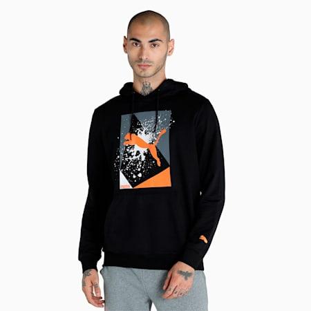PUMA x 1DER Graphic Men's Hoodie, Puma Black, small-IND