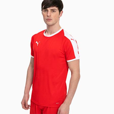 Football Men's LIGA Jersey, Puma Red-Puma White, small