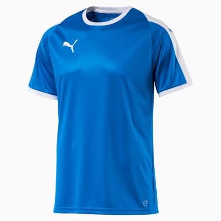 Football Men's LIGA Jersey, Electric Blue Lemonade-White, small-SEA