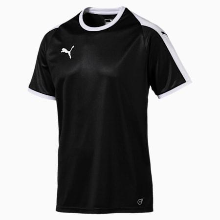 Football Men's LIGA Jersey, Puma Black-Puma White, small-GBR