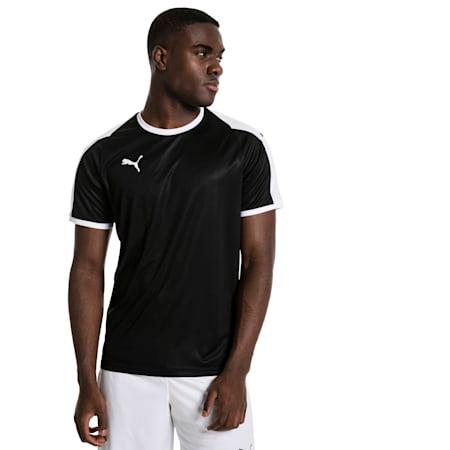 Meska koszulka pilkarska Liga, Puma Black-Puma White, small