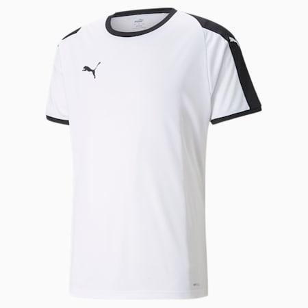 Liga sporttrui voor heren, Puma White-Puma Black, small
