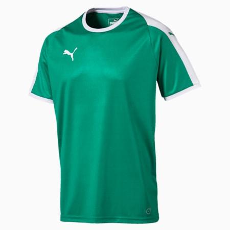 Football Men's LIGA Jersey, Pepper Green-Puma White, small-GBR