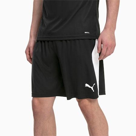 LIGA Herren Fußball Shorts, Puma Black-Puma White, small