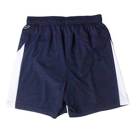 Football Kids' LIGA Shorts, Peacoat-Puma White, small-IND