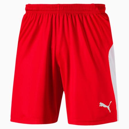 Fußball Herren LIGA Shorts, Puma Red-Puma White, small