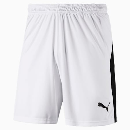Football Men's LIGA Shorts, Puma White-Puma Black, small-GBR