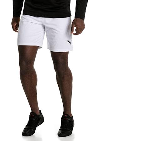Fußball Herren LIGA Shorts, Puma White-Puma Black, small