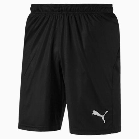Football Men's LIGA Core Shorts, Puma Black-Puma White, small-IND