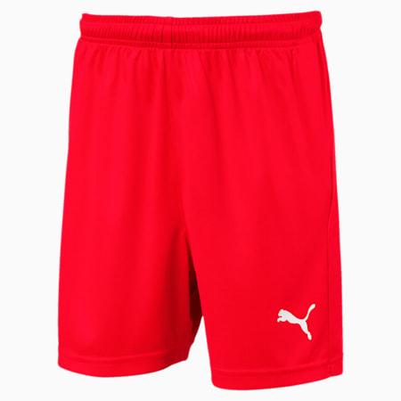 Football Kids' LIGA Core Shorts, Puma Red-Puma White, small-GBR
