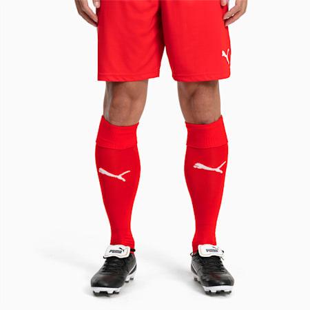 Calzettoni da calcio Liga, Puma Red-Puma White, small