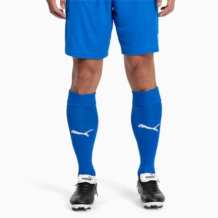 Calzettoni da calcio Liga, Electric Blue L.-Puma White, small