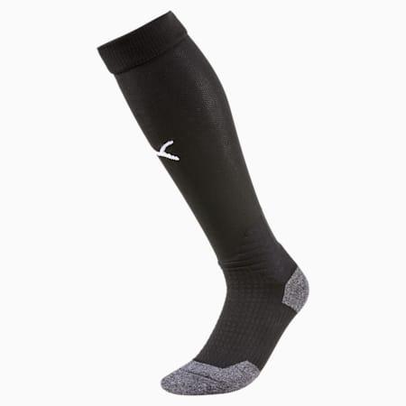 Liga Football Socks, Puma Black-Puma White, small-GBR