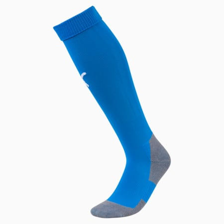 Football Men's teamLIGA Core Socks, Electric Blue L-Puma White, small