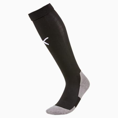 Football Men's LIGA Core Socks, Puma Black-Puma White, small