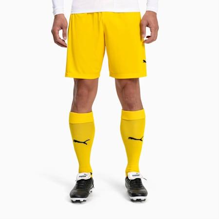 Football Men's teamLIGA Core Socks, Cyber Yellow-Puma Black, small