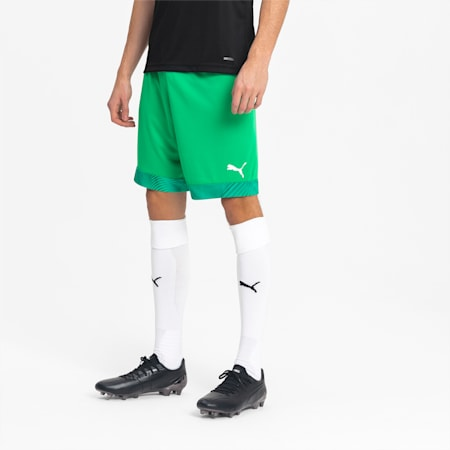 Short de foot CUP pour homme, Bright Green-Prism Violet, small