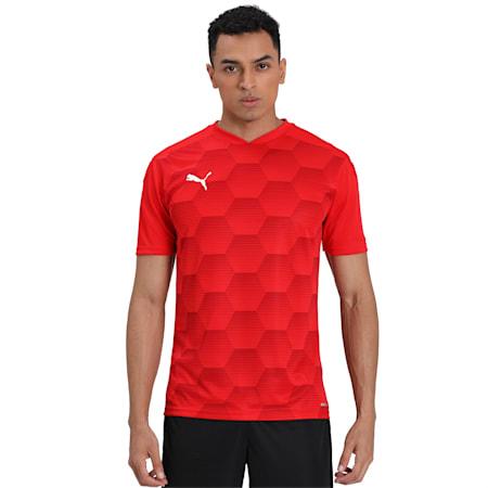 MUMBAI CITY FC  REPLICA JERSEY, Puma Red-Chili Pepper, small-IND