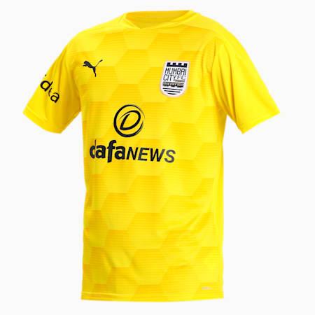 MUMBAI CITY FC  REPLICA JERSEY, Cyber Yellow-Spectra Yellow, small-IND