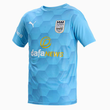 MUMBAI CITY FC  REPLICA JERSEY, Team Light Blue-Blue Yonder, small-IND