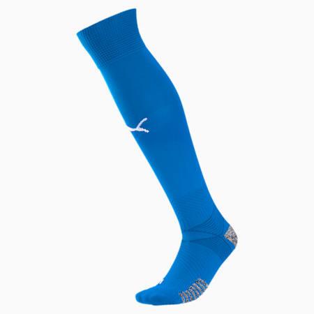teamFINAL Men's Football Socks, Electric Blue Lemonade, small
