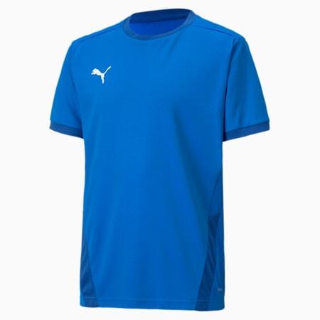 teamGOAL Football Kids' Jersey, Electric Blue Lemonade-Team Power Blue, small